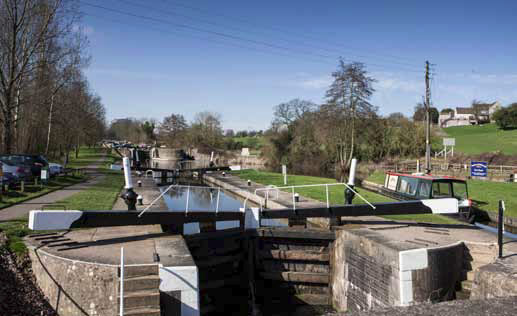 al fresco by the locks